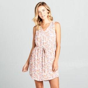 ReneeC. Women's Long Sleeve Midi Dress Dress